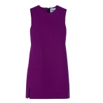 Acne Dana Wool-Crepe Shift Dress, $570
