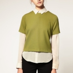 Asos Double Cloth Shell Top, $55