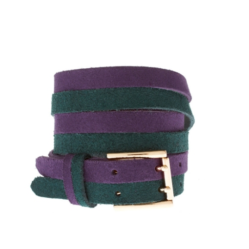 Asos Suede Color Block Belt, $28