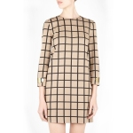 M-Missoni Natural 60s Box Print Dress, $675