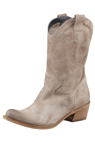 Alberto Fermani Suede Mid-Calf Boot, $450, available at Bergdorf Goodman.