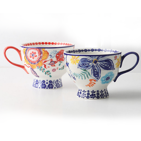 Anthropologie Sip-of-Nectar Mug, $12 each