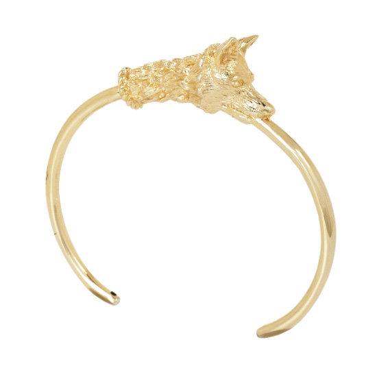 BCBG Max Azria Fox Cuff Bracelet, $24