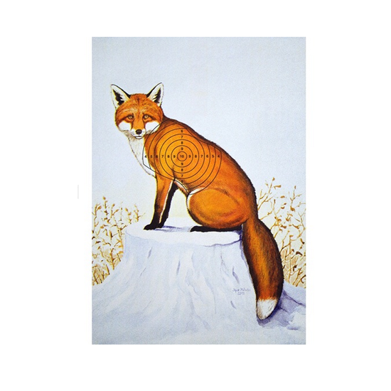 Jaguarshoes Collective Red Fox print by Ben Freeman and Igor Piculin, $14