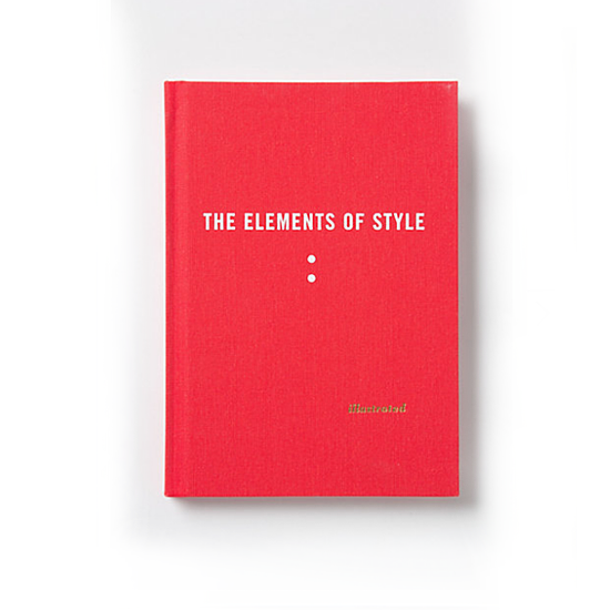 Maria Kalman The Elements of Style Illustrated, $25
