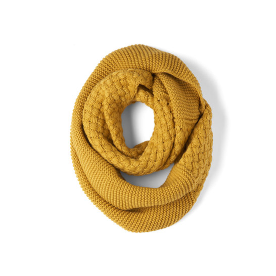 Modcloth Yellow Brick Cold Scarf, $25