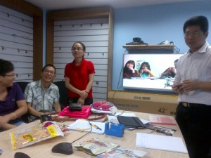 AT OUR GUANGZHOU OFFICE
