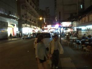 JORDAN STREET MARKET HONG KONG